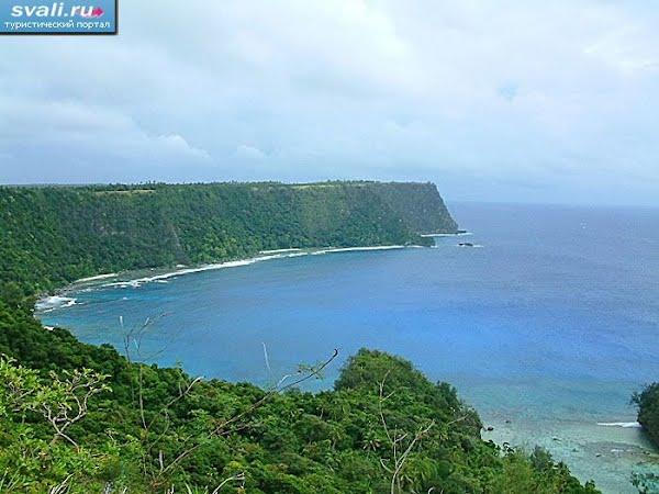 Тонга Вавау берега Вавау со стороны океана